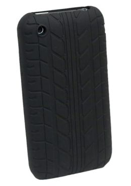 iPhone 3G/3GS Treadz Case in Black
