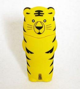 Tribeca FV01106 Trib Zoo Tiger USB Drive 4GB - Yellow.