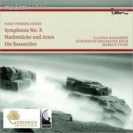 Hans Werner Henze: Symphonie No. 8; Nachtstücke und Arian; Die Bassariden