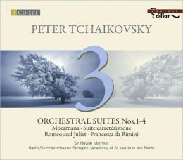 Tchaikovsky: Orchestral Suites Nos. 1-4, Vol. 3