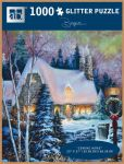 Product Image. Title: 1000 Pc Glitter Puzzle Coming Home Sandra Bergeron