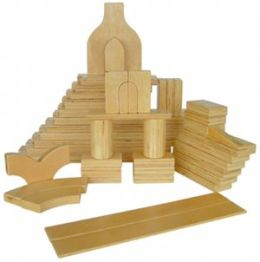 A+ Childsupply F8502 A+Plywood Pieces 56pcs
