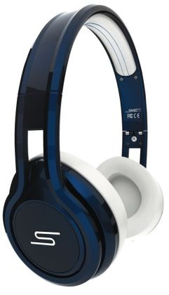 STREET by 50 On-Ear Wired Headphones-Blue
