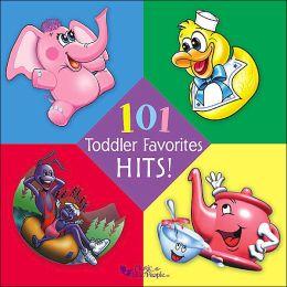 101 Toddler Favorites (4 CD Set)