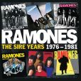 CD Cover Image. Title: The Sire Years 1976-1981, Artist: Ramones