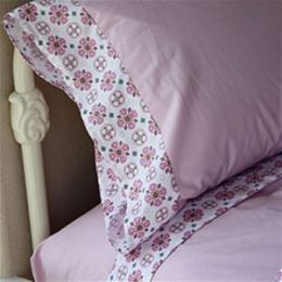Caden Lane 1MVGTSS Modern Vintage Girl Twin Sheet Set by Caden ...