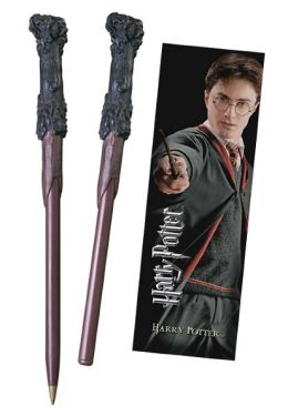 Harry Potter Wand Pen & Bookmark Set - Harry