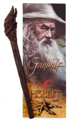 The Hobbit Gandalf Staff Pen and Bookmark