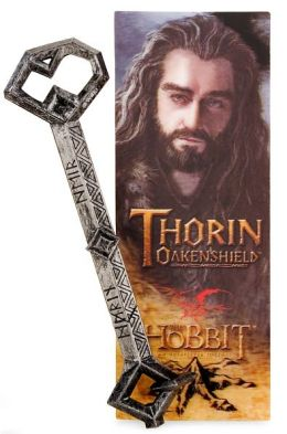 The Hobbit Thorin Key Pen and bookmark