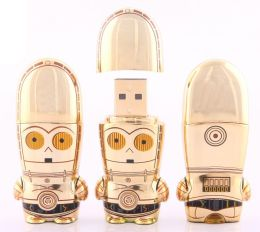 Mimoco Star Wars C-3PO MIMOBOT USB Flash Drive - 4GB