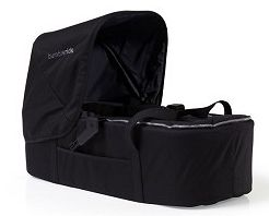 2011 Bumbleride Indie Twin (Double Stroller) Carrycot In Lava