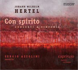 Johann Wilhelm Hertel: Con Spirito