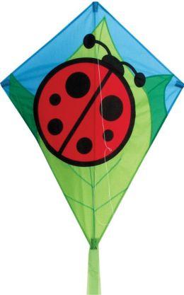 Lady Bug 26 Inch Diamond Kite