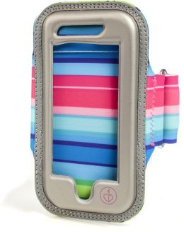Fiesta Stripe Chic Physique Armband for iPhone 5