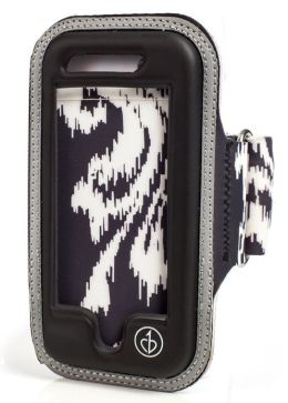Black Ikat Chic Physique Armband for iPhone 5