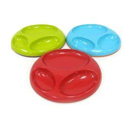 Boon, Inc. Saucer Stay-put Divided Plate, Assorted