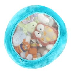 Boon, Inc. Stuffed Animal Storage Bag, Blue Raspberry
