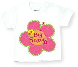 Big Sister Flower T Shirt Size: XS