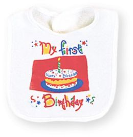 First Birthday Boy-BIB