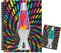 Lava Lamp Rainbow Journal