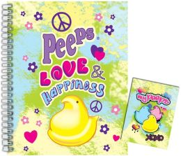 Peeps Love Happiness Large Journal