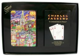 PHILIDELPHIA A Cheesestake In Philly Playing Cards Fazzino (B&N Exclusive)