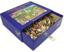 WASHINGTON Welcomes You Fazzino 1000 Piece Puzzle (B&N Exclusive)