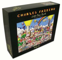 CHICAGO- Windy City Fazzino 2000 Piece Puzzle (B&N Exclusive)