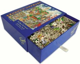 SAN FRANCISCO- Our Day In Fazzino 1000 Piece Puzzle (B&N Exclusive)