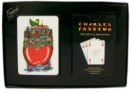 NEW YORK The Apple Is Manhattan Playing Cards Fazzino (B&N Exclusive)
