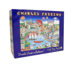 BALTIMORE Crackin' Crabs Fazzino 1,000 Piece Puzzle