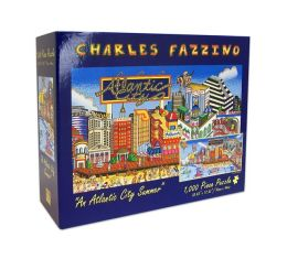 NEW JERSEY-AN ATLANTIC CITY SUMMER 1000 Piece PUZZLE