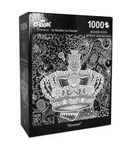 CROWN HEATHER FAZZINO 1000 Piece PUZZLE