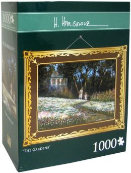 1,000 Pc Puzzle - The Gardens - H. Hargrove