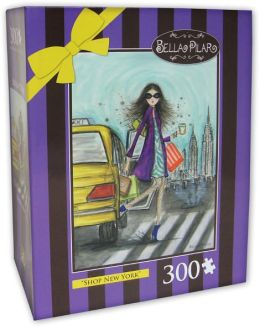 300 Pc Puzzle - Shop New York - Bella Pilar