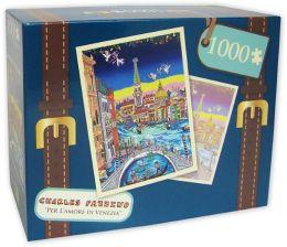 1,000 Pc Puzzle - Per L'Amore Di Venezia - Charles Fazzino