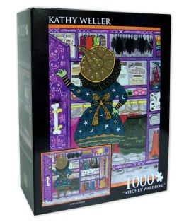 Kathy Weller Witches' Wardrobe 1000 Piece Puzzle
