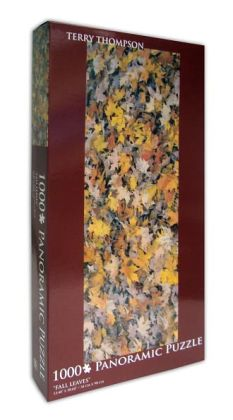 Terry Thompson Fall Leaves 1000 Piece Puzzle
