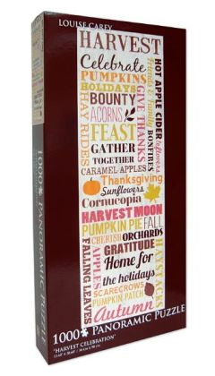 Louise Carey Harvest Celebration 1000 Piece Puzzle
