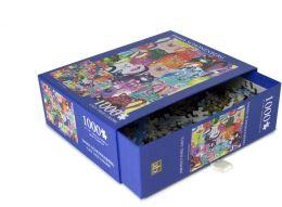 1,000 Piece Puzzle - Cats' True Colors - Emma Schonenberg