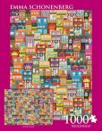 Product Image. Title: 1,000 Pc Puzzle Buildings Emma Schonenberg