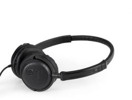 Radio Silenz Noise Cancelling Headphones in Black Ash