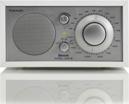 Tivoli Audio Model One Bluetooth AM/FM Radio - White/Silver