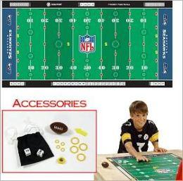 NFL Licensed Finger FootballT Game Mat - Seahawks