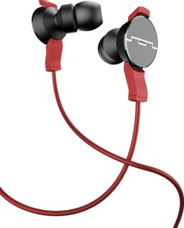 Sol Republic Amps In-Ear Headphones with - Red