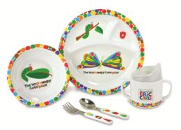 Eric Carle Melamine- Dishes & Cup