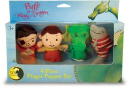 Puff the Magic Dragon Finger Puppet Set