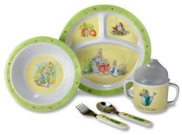Peter Rabbit 5 Piece Feeding Set