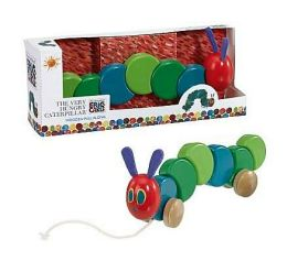 Eric Carle Wood Pull Toy