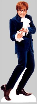 Advanced Graphics 318 Austin Powers Life-Size Cardboard Stand-Up